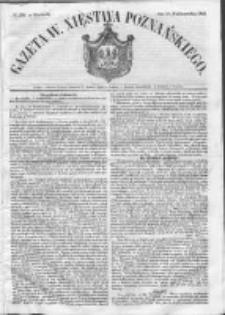Gazeta Wielkiego Xięstwa Poznańskiego 1852.10.10 Nr238