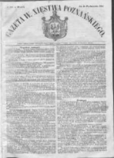 Gazeta Wielkiego Xięstwa Poznańskiego 1852.10.12 Nr239