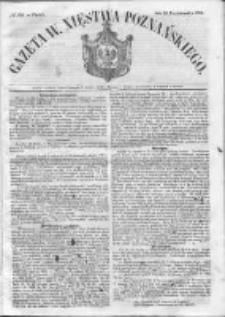 Gazeta Wielkiego Xięstwa Poznańskiego 1852.10.29 Nr254