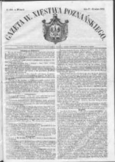 Gazeta Wielkiego Xięstwa Poznańskiego 1852.12.21 Nr299