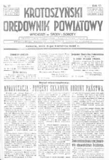 Krotoszyński Orędownik Powiatowy 1938.01.12 R.63 Nr4