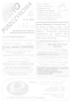 Echo Puszczykowa 1993.12.08 Nr10(35)