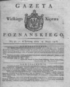 Gazeta Wielkiego Xięstwa Poznańskiego 1816.05.18 Nr40