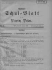 Amtliches Schul-Blatt für die Provinz Posen 1908.01.20 Jg.41 Nr2