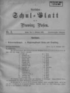 Amtliches Schul-Blatt für die Provinz Posen 1908.02.05 Jg.41 Nr3