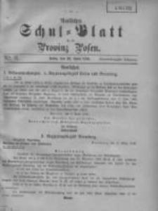 Amtliches Schul-Blatt für die Provinz Posen 1908.04.20 Jg.41 Nr8