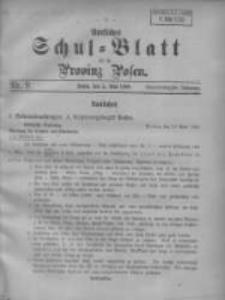 Amtliches Schul-Blatt für die Provinz Posen 1908.05.05 Jg.41 Nr9