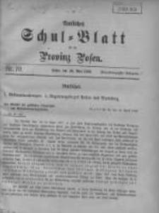 Amtliches Schul-Blatt für die Provinz Posen 1908.05.20 Jg.41 Nr10
