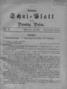Amtliches Schul-Blatt für die Provinz Posen 1908.07.05 Jg.41 Nr13