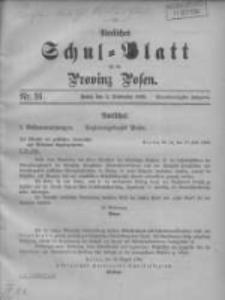 Amtliches Schul-Blatt für die Provinz Posen 1908.09.05 Jg.41 Nr16