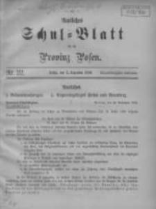Amtliches Schul-Blatt für die Provinz Posen 1908.12.05 Jg.41 Nr22