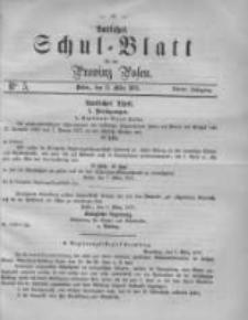 Amtliches Schul-Blatt für die Provinz Posen 1871.03.11 Jg.4 Nr5