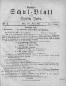 Amtliches Schul-Blatt für die Provinz Posen 1875.02.06 Jg.8 Nr3