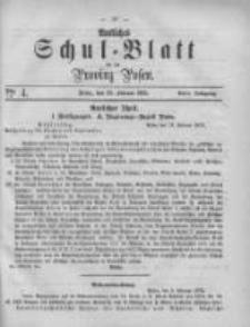 Amtliches Schul-Blatt für die Provinz Posen 1875.02.20 Jg.8 Nr4