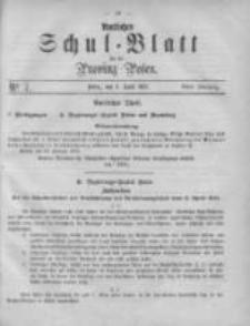 Amtliches Schul-Blatt für die Provinz Posen 1875.04.03 Jg.8 Nr7