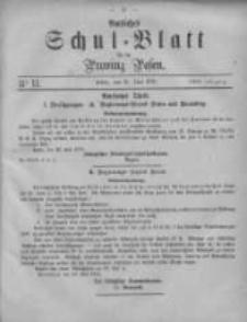 Amtliches Schul-Blatt für die Provinz Posen 1875.06.12 Jg.8 Nr11
