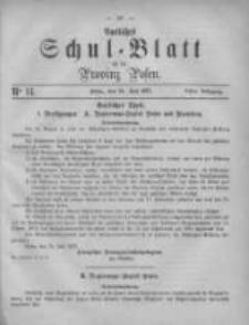 Amtliches Schul-Blatt für die Provinz Posen 1875.07.24 Jg.8 Nr14