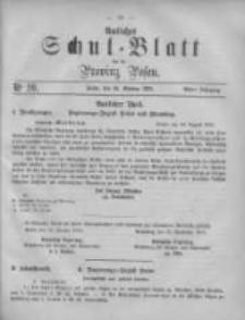 Amtliches Schul-Blatt für die Provinz Posen 1875.10.16 Jg.8 Nr20