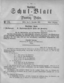 Amtliches Schul-Blatt für die Provinz Posen 1875.12.11 Jg.8 Nr24