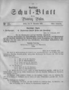 Amtliches Schul-Blatt für die Provinz Posen 1875.12.27 Jg.8 Nr25