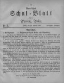Amtliches Schul-Blatt für die Provinz Posen 1887.02.28 Jg.20 Nr3