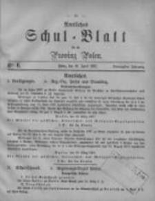 Amtliches Schul-Blatt für die Provinz Posen 1887.04.16 Jg.20 Nr6