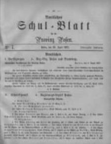 Amtliches Schul-Blatt für die Provinz Posen 1887.04.30 Jg.20 Nr7