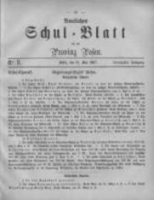 Amtliches Schul-Blatt für die Provinz Posen 1887.05.16 Jg.20 Nr8