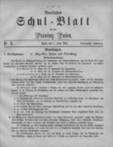 Amtliches Schul-Blatt für die Provinz Posen 1887.06.07 Jg.20 Nr9
