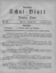 Amtliches Schul-Blatt für die Provinz Posen 1887.08.01 Jg.20 Nr14
