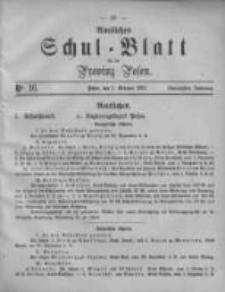 Amtliches Schul-Blatt für die Provinz Posen 1887.09.01 Jg.20 Nr16