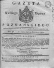 Gazeta Wielkiego Xięstwa Poznańskiego 1821.06.09 Nr46