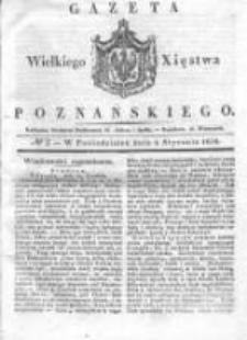 Gazeta Wielkiego Xięstwa Poznańskiego 1836.01.04 Nr2