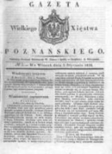Gazeta Wielkiego Xięstwa Poznańskiego 1836.01.05 Nr3
