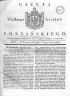 Gazeta Wielkiego Xięstwa Poznańskiego 1836.01.07 Nr5