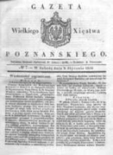 Gazeta Wielkiego Xięstwa Poznańskiego 1836.01.09 Nr7