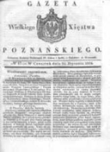 Gazeta Wielkiego Xięstwa Poznańskiego 1836.01.21 Nr17