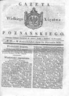 Gazeta Wielkiego Xięstwa Poznańskiego 1836.01.25 Nr20
