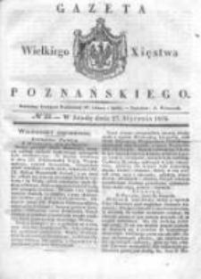 Gazeta Wielkiego Xięstwa Poznańskiego 1836.01.27 Nr22