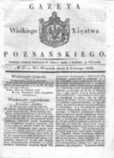 Gazeta Wielkiego Xięstwa Poznańskiego 1836.02.02 Nr27