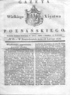 Gazeta Wielkiego Xięstwa Poznańskiego 1836.02.15 Nr38