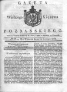 Gazeta Wielkiego Xięstwa Poznańskiego 1836.02.16 Nr39