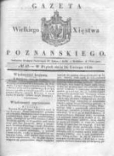 Gazeta Wielkiego Xięstwa Poznańskiego 1836.02.26 Nr48