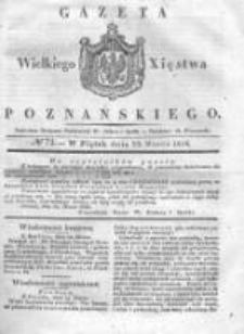 Gazeta Wielkiego Xięstwa Poznańskiego 1836.03.25 Nr72