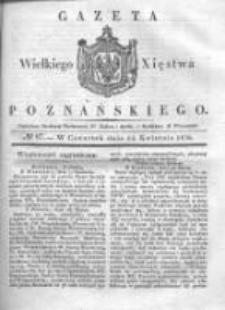 Gazeta Wielkiego Xięstwa Poznańskiego 1836.04.14 Nr87