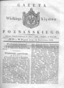 Gazeta Wielkiego Xięstwa Poznańskiego 1836.04.15 Nr88