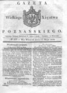 Gazeta Wielkiego Xięstwa Poznańskiego 1836.05.17 Nr113