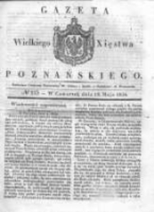 Gazeta Wielkiego Xięstwa Poznańskiego 1836.05.19 Nr115