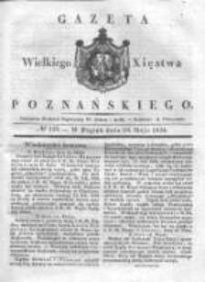 Gazeta Wielkiego Xięstwa Poznańskiego 1836.05.20 Nr116