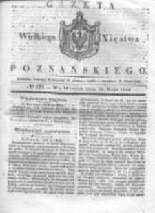 Gazeta Wielkiego Xięstwa Poznańskiego 1836.05.31 Nr124